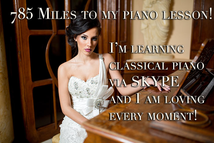 Classical Skype Piano Lessons